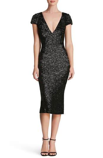 Dress the Population Allison Sequin Sheath Dress