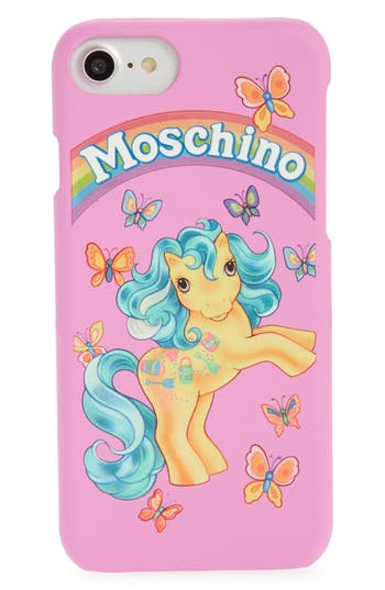 Moschino X My Little Pony Iphone 6/6S & 7 Case - Pink