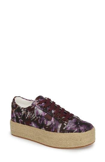 Kenneth Cole New York Allyson Espadrille Platform Sneaker, Purple