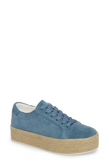 Kenneth Cole New York Allyson Espadrille Platform Sneaker, Blue