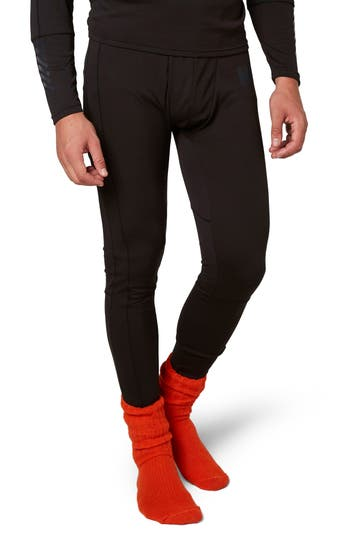 Helly Hansen Lifa Mid Base Layer Leggings, Black