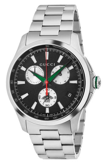 Gucci G Timeless Chronograph Bracelet Watch, 45mm