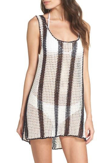 Diane Von Furstenberg Cover-Up Sweater Dress, White