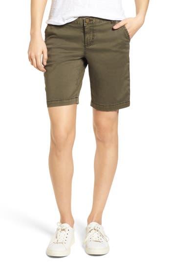 Caslon® Twill Shorts