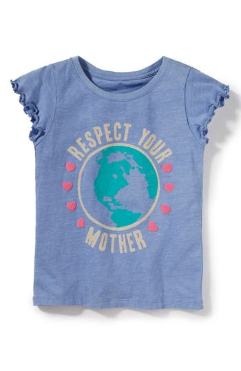 Girls Peek Respect Your Mother Graphic Tee