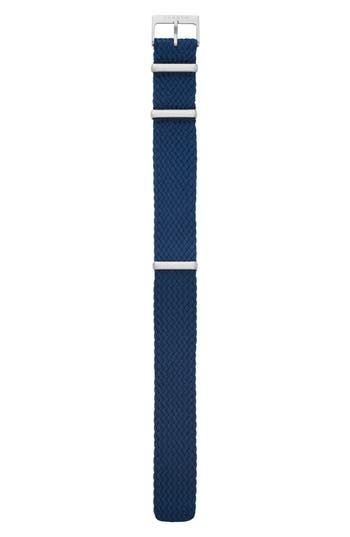 Women's Skagen Woven Nylon Watch Strap, 20Mm