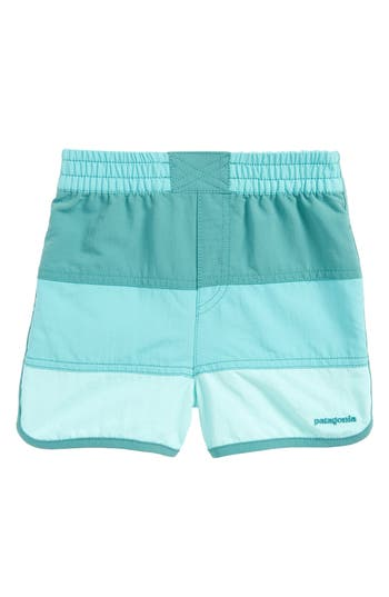 Toddler Boy's Patagonia Board Shorts, Size 2T - Blue