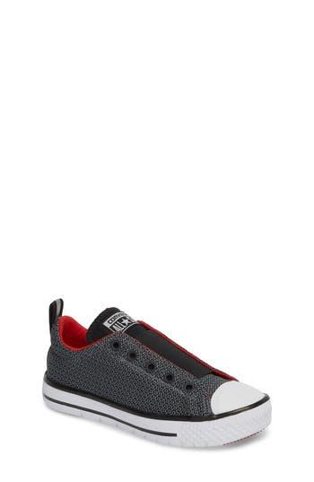 Toddler Boys Converse Chuck Taylor All Star Hyper Lite Ox SlipOn Sneaker Size 12 M  Grey