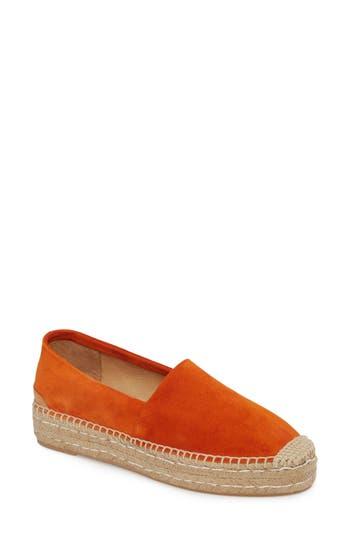 Patricia Green Abigail Espadrille Slip-On, Orange