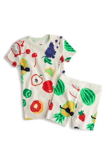 Girls Crewcuts Fruity Fun Fitted TwoPiece Pajamas