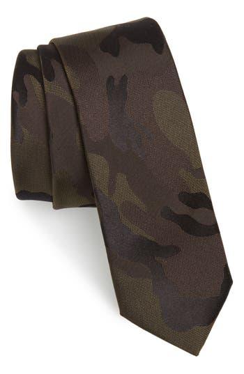 Men's Valentino Silk Tie, Size One Size - Green