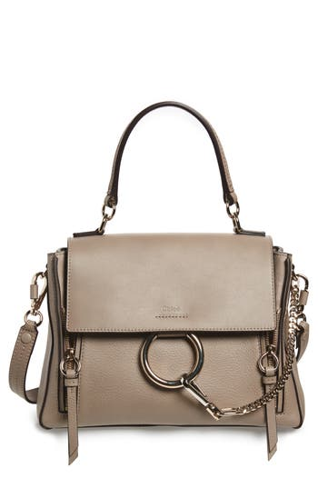 Chloé Small Faye Day Leather Shoulder Bag
