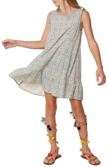 Girls ONeill Lani Geo Print Shift Dress
