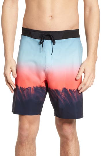 Hurley Phantom Hyperweave 3.0 Estuary Board Shorts, Blue