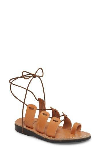 Jerusalem Sandals Deborah Wraparound Laces Sandal