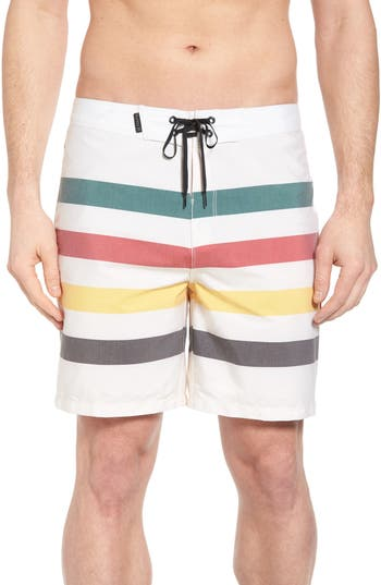 Hurley X Pendleton Grand Glacier Board Shorts, White