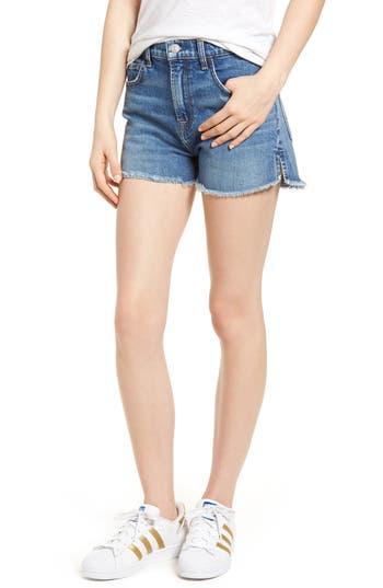 Womens 7 For All Mankind Cutoff Step Hem Denim Shorts Size 23  Blue