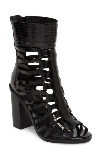 Jeffrey Campbell Deportivo Strappy Bootie, Black