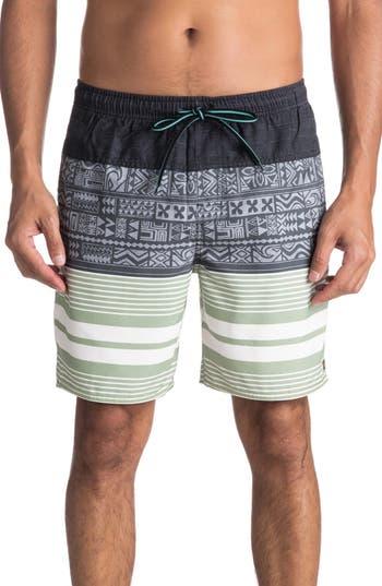 Quiksilver Arva Volley Shorts, Green