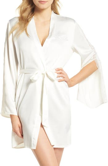 Women's In Bloom By Jonquil Bride Wrap, Size Medium/Large - Ivory