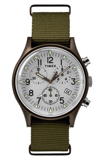 Timex Mk1 Chronograph Nylon Strap Watch