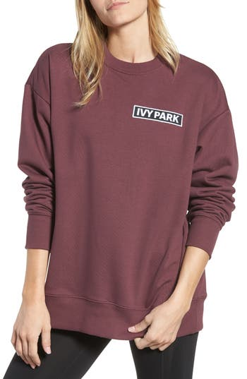 Ivy Park Flag Badge Sweatshirt