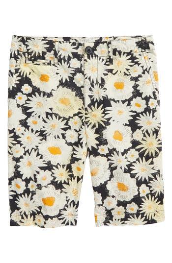 Boys Burberry Tristen Daisy Print Shorts
