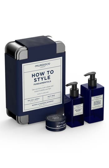 MURDOCK LONDON HOW TO GIVE GOOD STYLE SET
