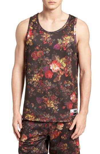 Nike Dry Reversible Floral Mesh Tank