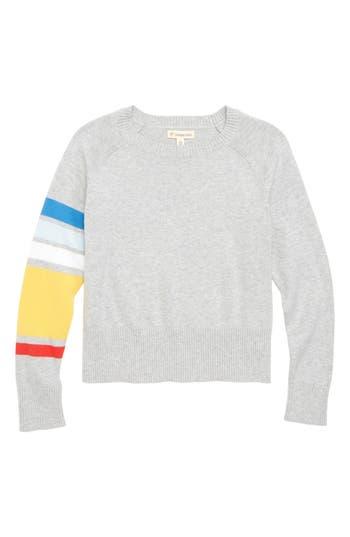 Girls Tucker  Tate Asymmetrical Stripe Sweater