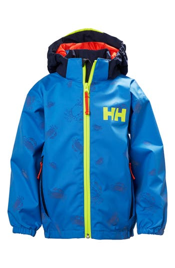 Boys Helly Hansen Vision Reflex Waterproof  Windproof Hooded Jacket