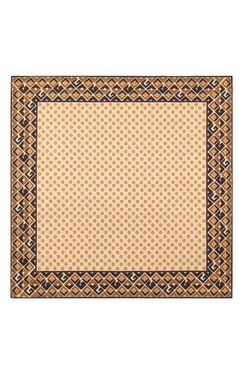 Gucci Patterned Silk Pocket Square