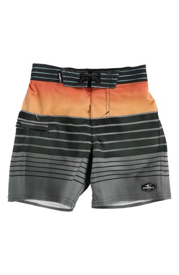 Boys ONeill Hyperfreak Heist Board Shorts Size S  4  Grey