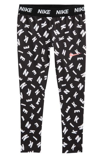 Girls Nike Essentials Print Capri Legging