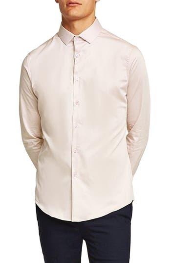 Topman Stretch Smart Shirt