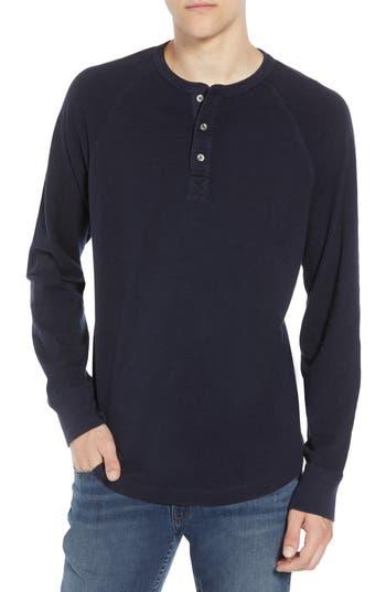 French Connection Garment Dye Slub Henley