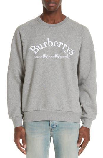 Burberry Battarni City Logo Sweatshirt
