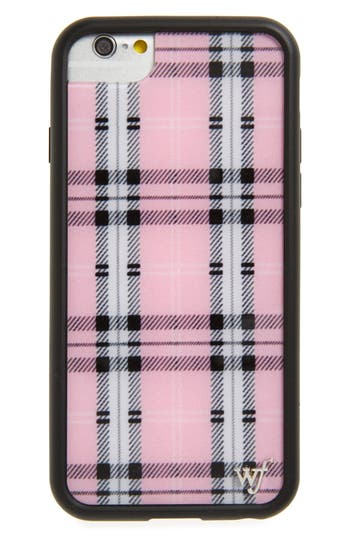 wildflower Tartan Plaid iPhone 6/7/8 Plus Case