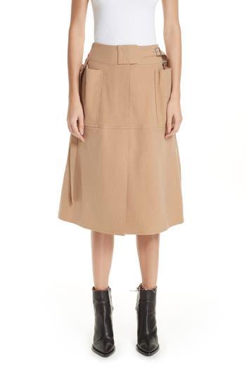 Ambush Buckle Waist Skirt