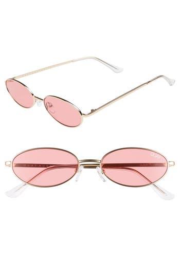 Quay Australia Clout 54mm Round Sunglasses