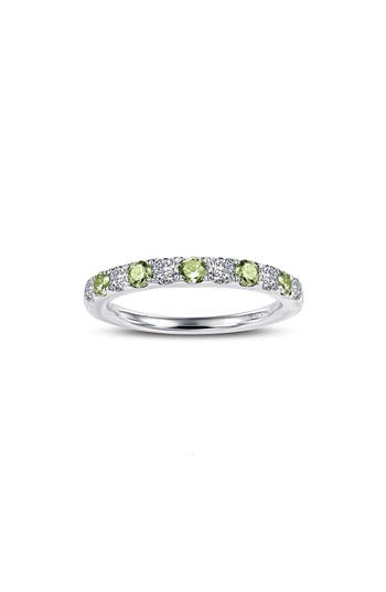 Lafonn Simulated Diamond Birthstone Band Ring