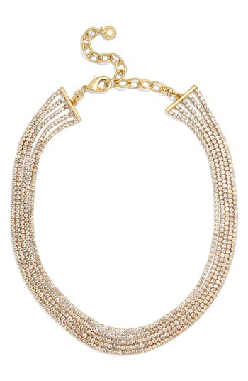BaubleBar Josephine Crystal Statement Necklace