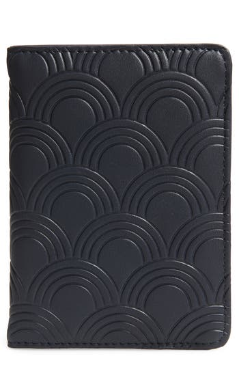 Estella Bartlett Embossed Faux Leather Passport Case