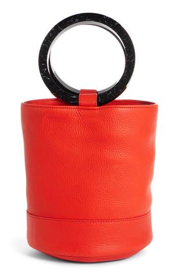 Simon Miller Bonsai 20 Pebbled Leather Bucket Bag