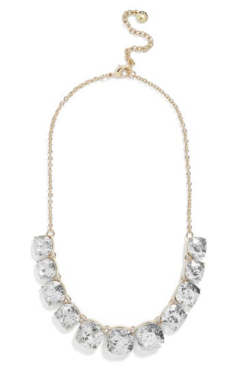 BaubleBar x Micaela Erlanger Midnight in Paris Statement Necklace
