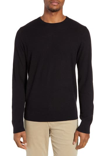 Nordstrom Men's Shop Regular Fit Textured Crewneck Sweater