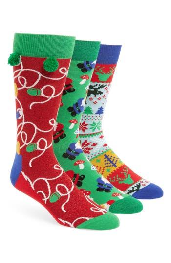 Happy Socks Holiday 3-Pack Socks Boxed Set