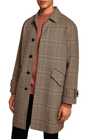 Topman Check Mac Jacket