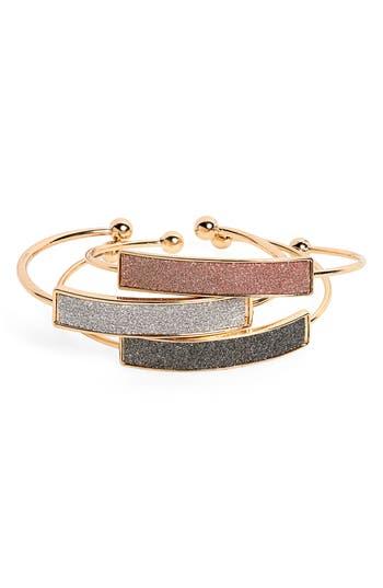 Panacea Set of 3 Cuff Bracelets
