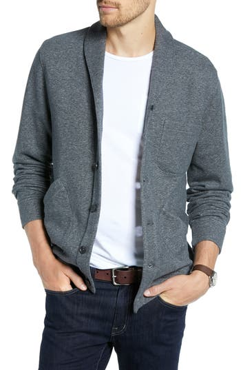 1901 Regular Fit Nep Terry Shawl Cardigan